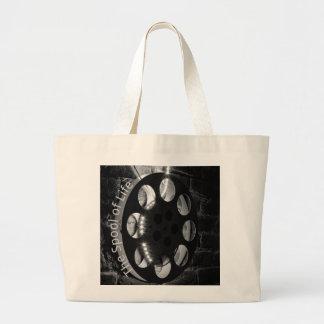 フィルムスプールのジャンボトートバック ラージトートバッグ