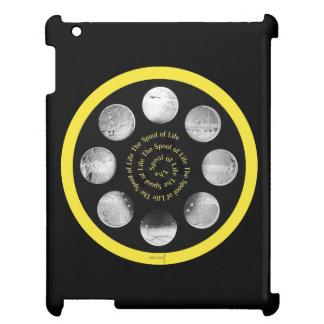 """フィルムスプールのiPadの場合- """"生命の螺線形のスプール"""" iPadケース"""
