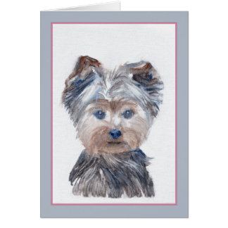 フィルモア犬の挨拶状 カード