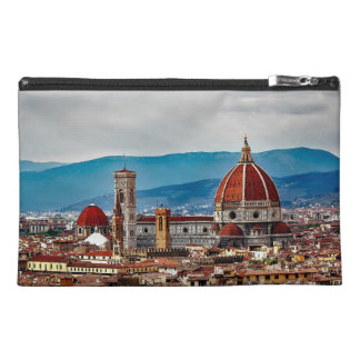 フィレンツェの古い都市、イタリアのスカイライン トラベルアクセサリーバッグ