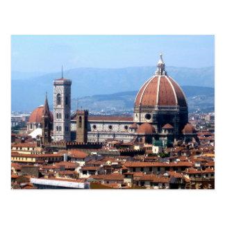 フィレンツェの大教会堂の郵便はがき ポストカード