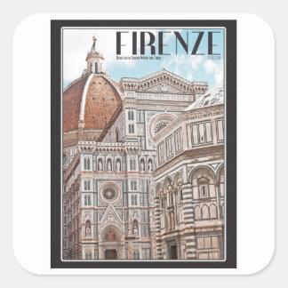 フィレンツェの大教会堂 スクエアシール