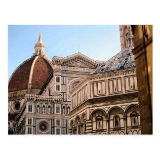 フィレンツェの大教会堂- Baptistry ポストカード