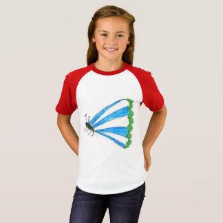 フィレンツェの女の子のRaglanのTシャツ Tシャツ