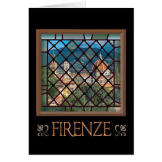 フィレンツェの挨拶状 カード