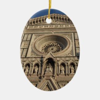 フィレンツェの花の聖者メリーのカテドラル セラミックオーナメント