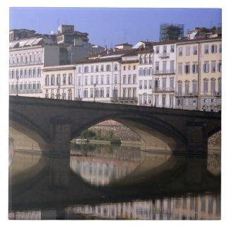 フィレンツェの都市景観 正方形タイル大