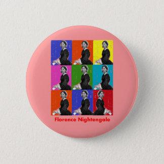 フィレンツェのnightengale POPARTのTシャツ及びギフト 5.7cm 丸型バッジ