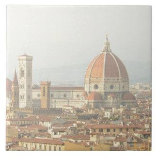 フィレンツェまたはフィレンツェイタリアの大教会堂 タイル