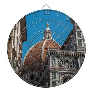 フィレンツェまたはフィレンツェイタリアの大教会堂 ダーツボード