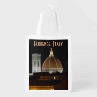 フィレンツェイタリアのイタリアの場所 エコバッグ
