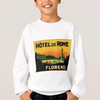フィレンツェイタリアのホテルDeROME スウェットシャツ