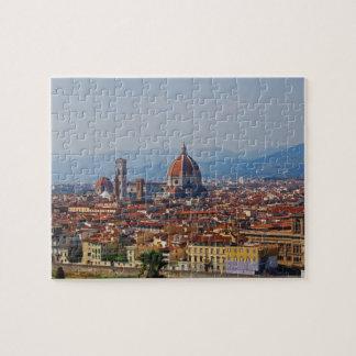 フィレンツェイタリアの大教会堂の眺め ジグソーパズル