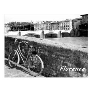 フィレンツェイタリアンな市の循環 ポストカード