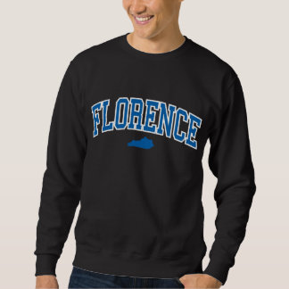 フィレンツェケンタッキーの黒いスエットシャツ スウェットシャツ
