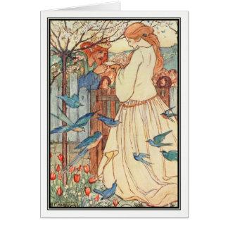 フィレンツェハリスン著未婚の歌 カード