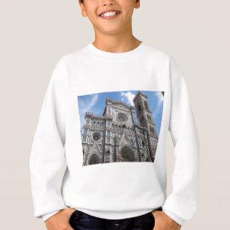 フィレンツェフィレンツェのカテドラルの正面 スウェットシャツ