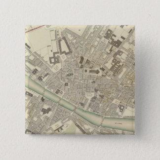 フィレンツェフィレンツェ 5.1CM 正方形バッジ