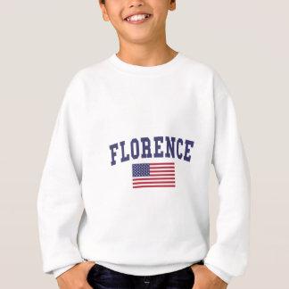 フィレンツェ米国の旗 スウェットシャツ