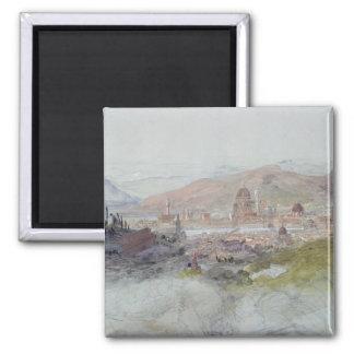 フィレンツェ1837-39年の眺め マグネット