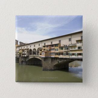 フィレンツェ、イタリア5 5.1CM 正方形バッジ