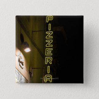 フィレンツェ、イタリア8 5.1CM 正方形バッジ