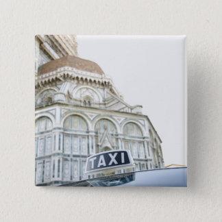 フィレンツェ、イタリア9 5.1CM 正方形バッジ