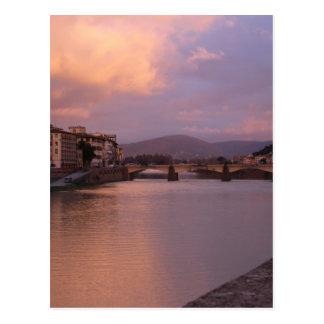 フィレンツェ、イタリア ポストカード