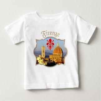 フィレンツェ-サンタマリアdel Fiore ベビーTシャツ