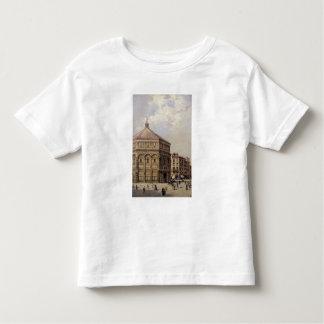 フィレンツェ(パネル)のBaptistryの眺め トドラーTシャツ