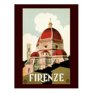 フィレンツェ ポストカード