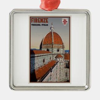 フィレンツェ-大教会堂 メタルオーナメント