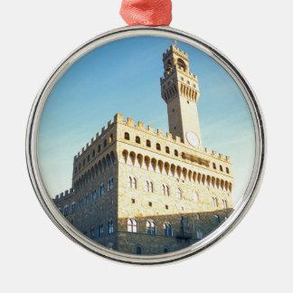 フィレンツェ-広場のdella Signoria メタルオーナメント