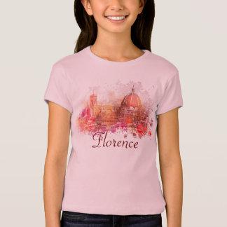 フィレンツェ-花の聖者メリーのバシリカ会堂 Tシャツ