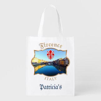 フィレンツェ- Ponte Vecchio エコバッグ