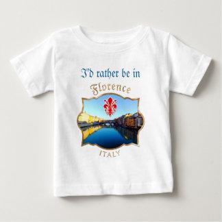 フィレンツェ- Ponte Vecchio ベビーTシャツ