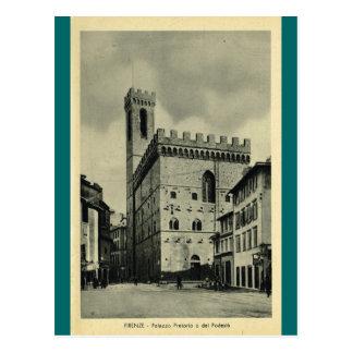 フィレンツェPalazzio Pretorio ポストカード