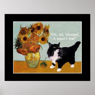 フィンセント・ファン・ゴッホのいけない猫 ポスター