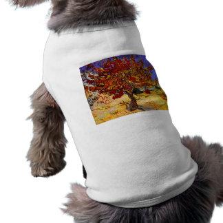 フィンセント・ファン・ゴッホのクワのファインアートの絵画 ペット服