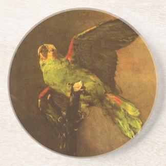 フィンセント・ファン・ゴッホのヴィンテージのファインアート著緑のオウム コースター
