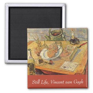 フィンセント・ファン・ゴッホのヴィンテージのファインアート著静物画 マグネット
