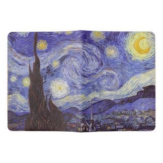 フィンセント・ファン・ゴッホの星明かりの夜ヴィンテージのファインアート エクストララージMoleskineノートブック