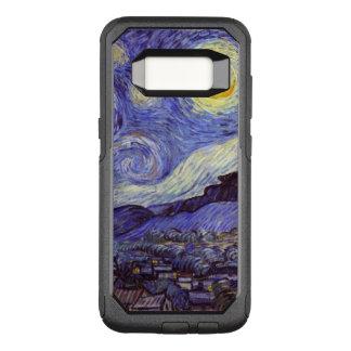 フィンセント・ファン・ゴッホの星明かりの夜ヴィンテージのファインアート オッターボックスコミューターSamsung GALAXY S8 ケース