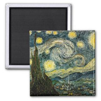 フィンセント・ファン・ゴッホの星明かりの夜(1889年) マグネット
