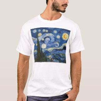 フィンセント・ファン・ゴッホの星明かりの夜 Tシャツ