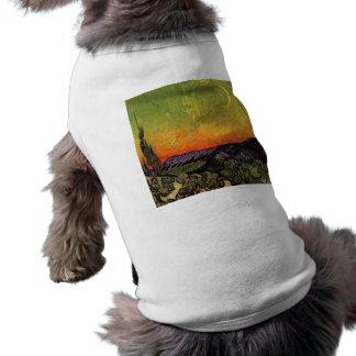 フィンセント・ファン・ゴッホの月明りの景色 ペット服