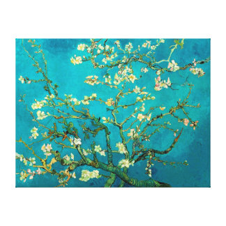 フィンセント・ファン・ゴッホの活気付くアーモンド木の花柄の芸術 キャンバスプリント
