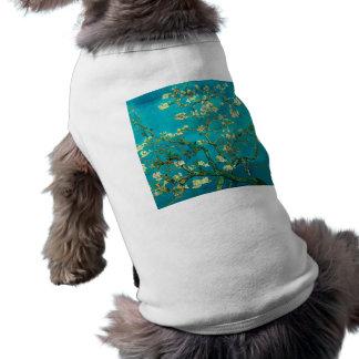 フィンセント・ファン・ゴッホの活気付くアーモンド木の花柄の芸術 ペット服