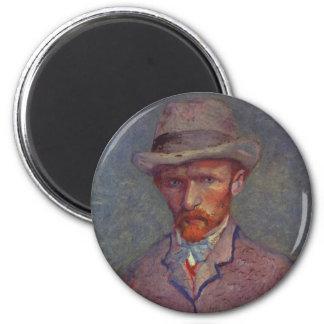 フィンセント・ファン・ゴッホの自画像のスーツ マグネット