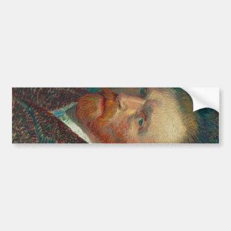 フィンセント・ファン・ゴッホの自画像 バンパーステッカー